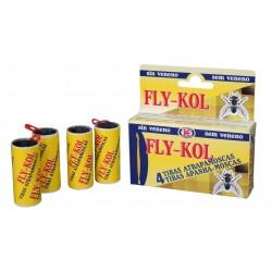 TIRA ATRAPAMOSCAS FLY-KOL E/4 UNID.
