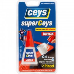 PEGAMENTO SUPERCEYS UNICK PINCEL E/5 g.