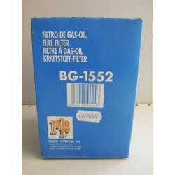 FILTRO COMBUSTIBLE PBR BG1552