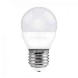 BOMBILLA LED ESFERICA MATEL E27 5 W.
